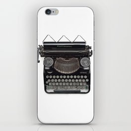 Continental Type writer iPhone Skin