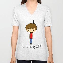 Lets Hang Out Unisex V-Neck