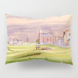 St Andrews Golf Course Scotland 17th Green Pillow Sham