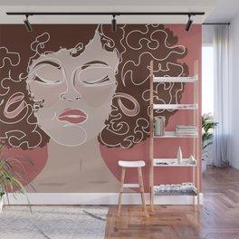 Sexy girl Wall Mural