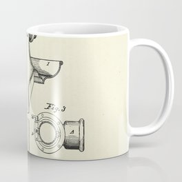 Combined Fire and Drinking-Hydrant-1876 Coffee Mug