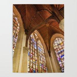 Inside Oude Kerk Poster