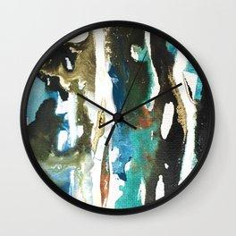 Muddy waters Wall Clock