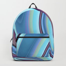 Abstract Fractal Colorways 02PrBl Backpack
