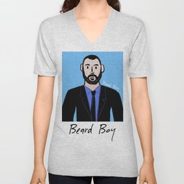 Beard Boy: Dieter Unisex V-Neck