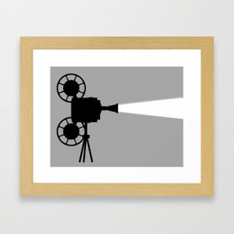 Movie Cine Projector Framed Art Print