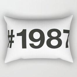 1987 Rectangular Pillow