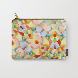 Pastel Geometric Carry-All Pouch
