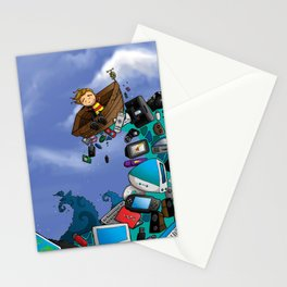 Sea of Technology Stationery Cards