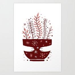 Hug Mug Art Print