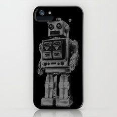 Vintage robot iPhone (5, 5s) Slim Case