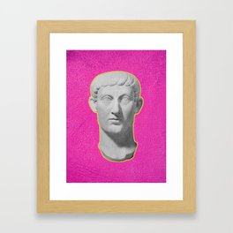Emperor Constantine Rolling His Eyes Framed Art Print