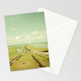 Low Country Aerial Landscape Stationery Cards