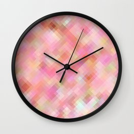 Re-Created  Braids 1 by Robert S. Lee Wall Clock