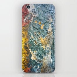 Colorful Abstract Texture iPhone Skin