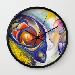 Haiti Mural Wall Clock
