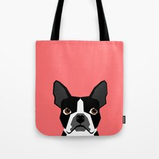 Kennedy - Boston Terrier cute dog themed gifts for small dog owners and Boston Terrier gifts  Tote Bag