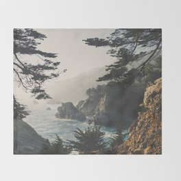 Big Sur Throw Blanket