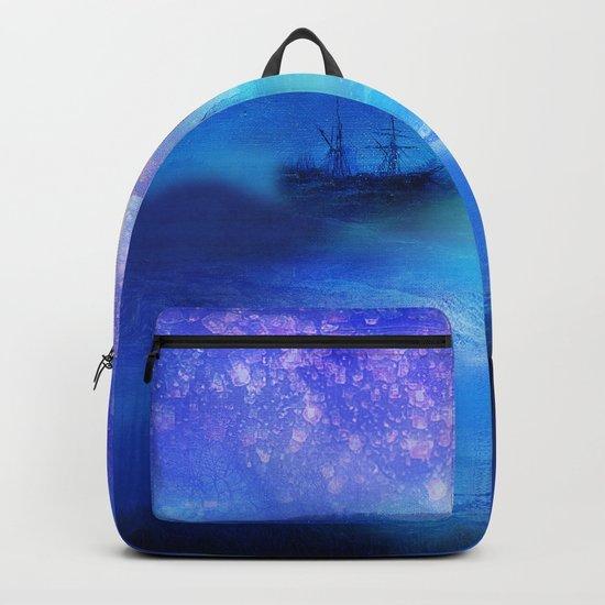 Fantasy in Blue. Backpack