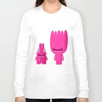 mouth Long Sleeve T-shirts featuring mouth breathers by simon oxley idokungfoo.com