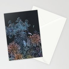 Pigeon lullaby Stationery Cards