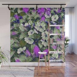 Flowerful Lavender Wall Mural