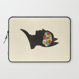Bat Phrenology Laptop Sleeve