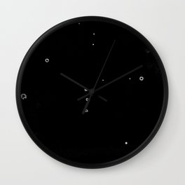 Orion (Cloud series#16) Wall Clock