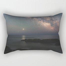 Silent Summer Night Rectangular Pillow