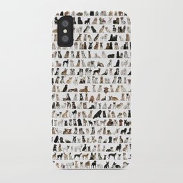 Dogs, Dogs and dogs iPhone Case