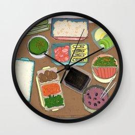 Lunch Box Memories Wall Clock
