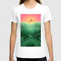 jaws T-shirts featuring JAWS by hyasinths