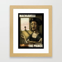 Machiavelli's The Prince Framed Art Print