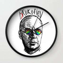 Brokofiev - Prokofiev Wall Clock