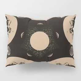 Ouija Wheel of the Moon - Beyond the Veil Pillow Sham