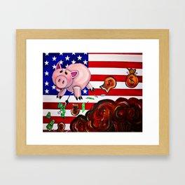 War Pig Framed Art Print