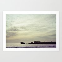 Cement Ship Art Print