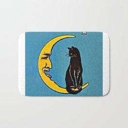 Black Cat & Moon Bath Mat