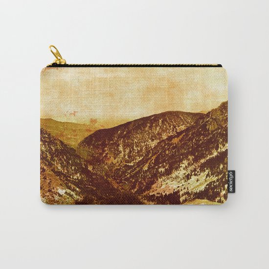 fantastic mountains, vintage  Carry-All Pouch