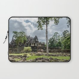 Bayon Temple at Angkor Thom, Siem Reap, Cambodia Laptop Sleeve