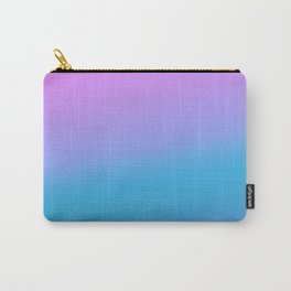 Ombre Unicorn Gradients Pink Purple Sky Blue Blends Carry-All Pouch