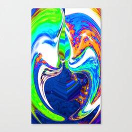 Fear of Being Afraid  Canvas Print