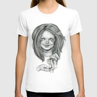 ginger T-shirts featuring Ginger by Taylor Bryn Illustration