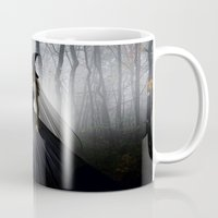 witch Mugs featuring Witch by Julie Hoddinott
