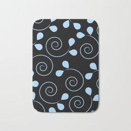 Swirls And Petals Bath Mat
