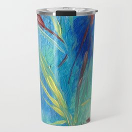 garden of modern art centre. gulbenkian Travel Mug
