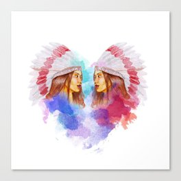 Melody the Chief Canvas Print