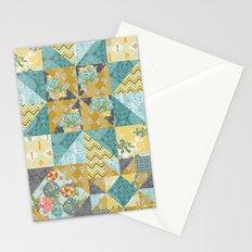 Starlight Patchwork  Stationery Cards