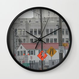 Post Modern Industrial Wall Clock