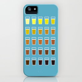 The Colors of Beer iPhone Case